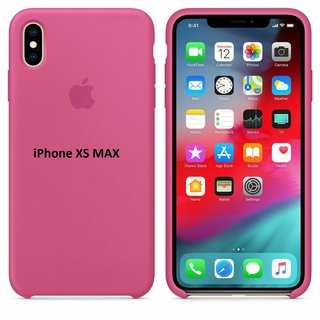 Original Apple Silikon Case für iPhone XS Max Drachenfrucht (MW972ZM/A)